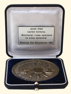 wolontariat-medal